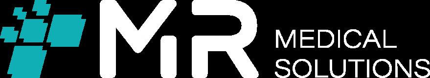 MR - Logo white